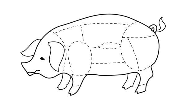 Почечное мясо свинины где находится фото